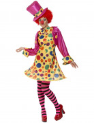 Clowns-Kost�m f�r Damen