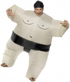 Inflatable sumo costume for adults