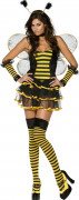 Sexy bee costume for women