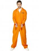 Déguisement prisonnier orange homme