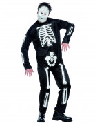 Skelett-Kost�m f�r Herren zu Halloween
