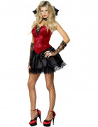D�guisement vampire femme Halloween sexy