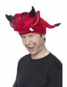 Chapeau diable Halloween adulte