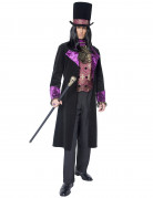 Disfraz de conde para hombre, ideal para Halloween