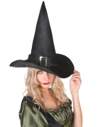 Chapeau sorci�re velours halloween adulte