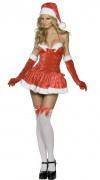 Sexy Santa costume for women
