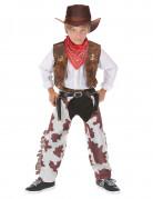 Disfraz de vaquero de lujo para ni�o