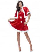 Sexy Weihnachtsfrau-Kost�m f�r Damen