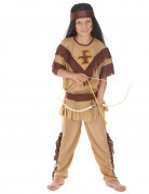 Red Indian costume for boys.