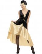 Ihnen gefällt sicherlich auch : Schwarz-goldenes Charleston-Kost�m f�r Damen