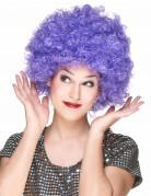 Ihnen gefällt sicherlich auch : Violette Afro/Disco-Per�cke f�r Erwachsene