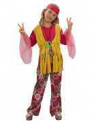 D�guisement hippie muticolore fille
