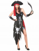 Sexy corsair costume for women