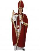 Herren-Kost�m Roter Bischof