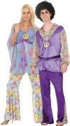 Deluxe Hippy costume for couples