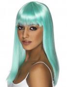 Ihnen gefällt sicherlich auch : Glamour�se, t�rkisblaue Per�cke f�r Damen