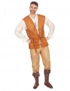Disfraz medieval de campesino para hombre