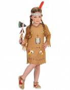 Red Indian costume for girls