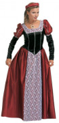 Medieval princess costume for women