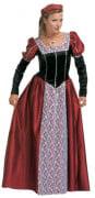 Mittelalterliches  Prinzessinnen-Kost�m f�r Damen