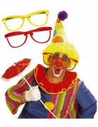 Lunettes de clown g�antes adulte