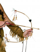 Red Indian bow and arrow for children