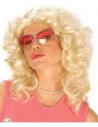 Peluca rubia Beverly Hills para mujer