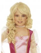 Blonde Prinzessin-Per�cke f�r M�dchen