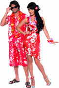 Hawaiian costume for couples