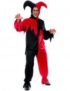 Disfraz de buf�n terror�fico para adulto