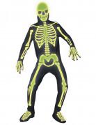 Disfraz de esqueleto para adulto, ideal para Halloween