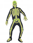 Skelettkost�m Halloween f�r Erwachsene