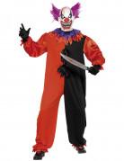 schauerliches Clowns-Kost�m Halloween f�r Erwachsene