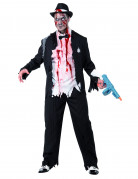 Zombie-Gangster Herrenkost�m Halloween