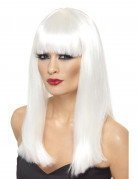 Long Halloween wig with fringe