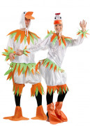 White ducks costume for couples