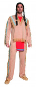 Deluxe Red Indian costume for men