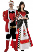 King and Queen of Hearts costume for couples