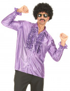 Ihnen gefällt sicherlich auch : Diskohemd violett f�r Herren