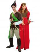 Disfraz de pareja medieval