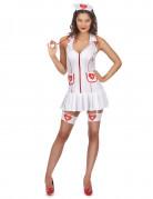 Krankenschwesterkost�m sexy f�r Damen