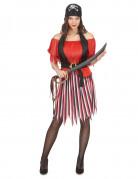 Pirate costume for women.