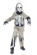 You would also like : Halloween zombie skeleton costume for boys.