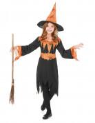 Ihnen gefällt sicherlich auch : Hexen-Kost�m Halloween orange f�r M�dchen
