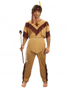Red Indian Warrior costume for men