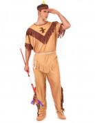 Red Indian Warrior costume for men