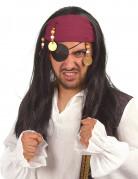 Peluca de pirata para mujer