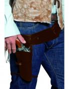 Ceinture bandit du western avec �tui adulte