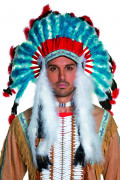 Deluxe Indian headdress for adults