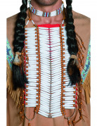 Deluxe Red Indian necklace for adults